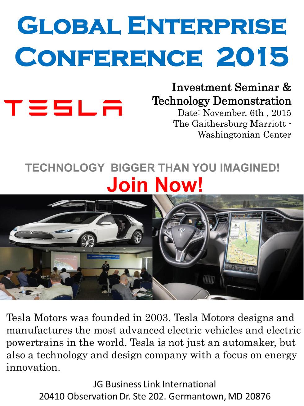 GEC Tesla Ad copy